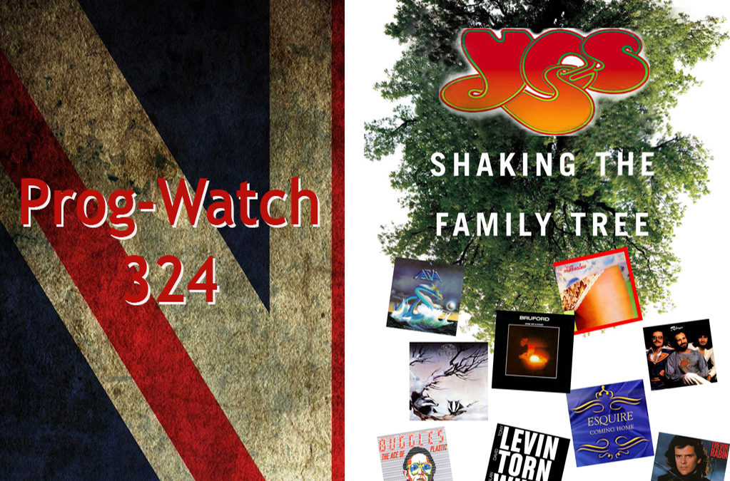 324: Shaking the Family Tree of the band Yes