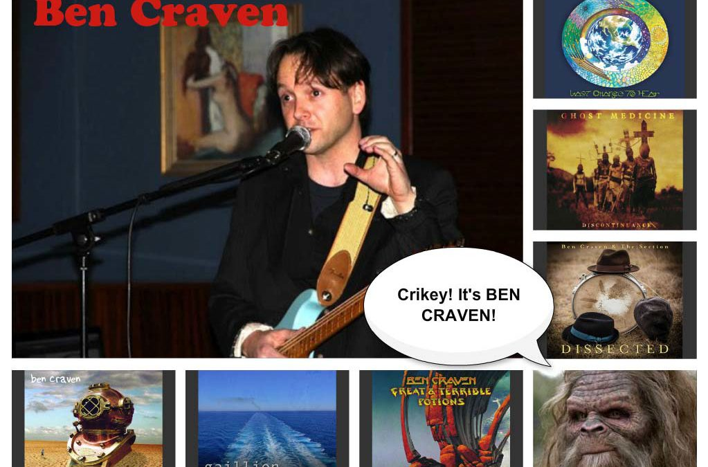 326: Gaillion, Ghost Medicine & Ben Craven feature